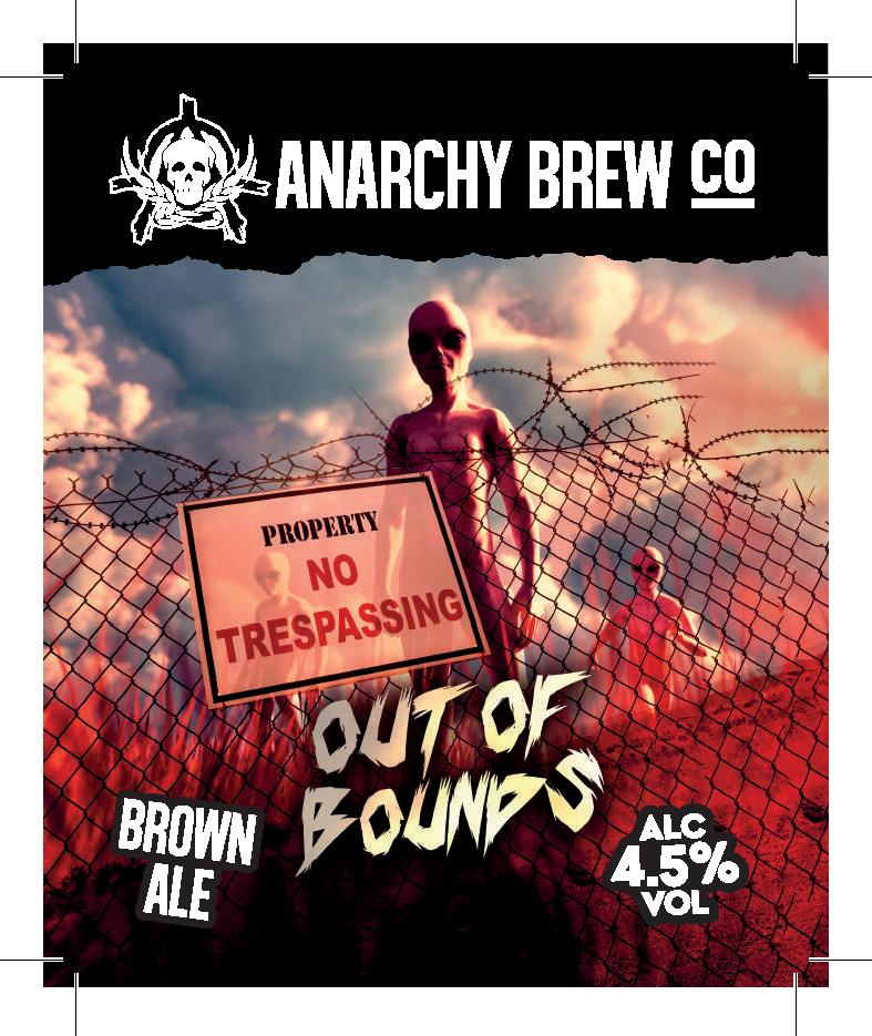 Anarchy Out of Bounds 9 Gallons Brown 4.5%