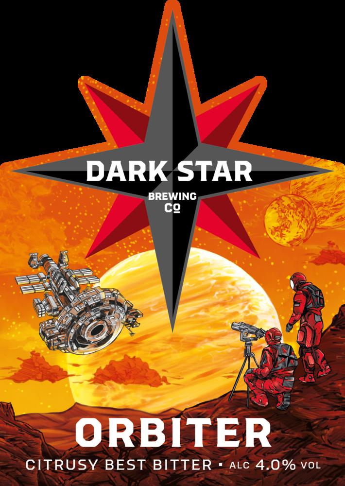 Dark Star Orbiter 9 Gallons Amber 4.0%