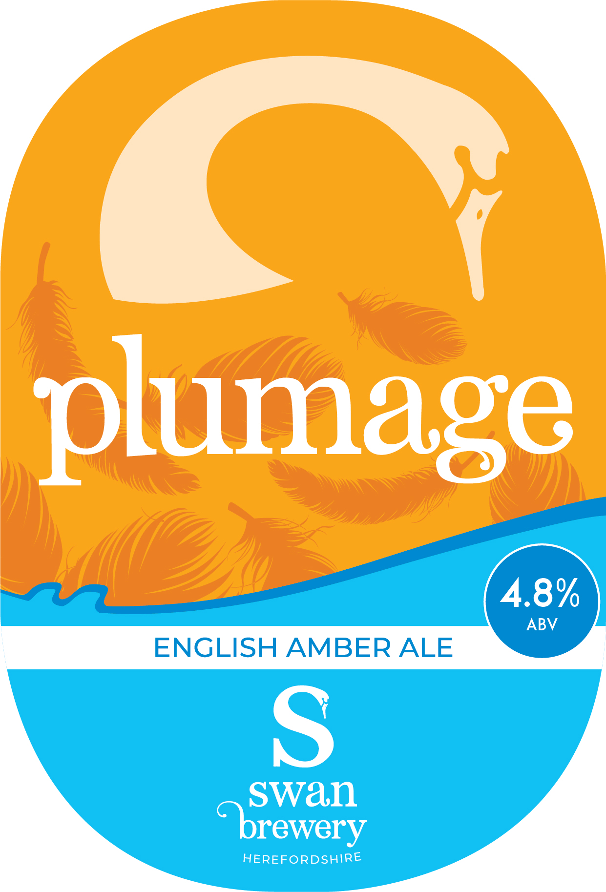 Swan Brewery Plumage 9 Gallons Amber 4.8%